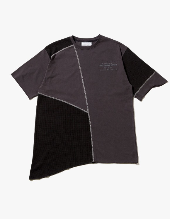 JOEGUSH U/Mixed T-shirts - Black | HEIGHTS. | 하이츠 온라인 스토어
