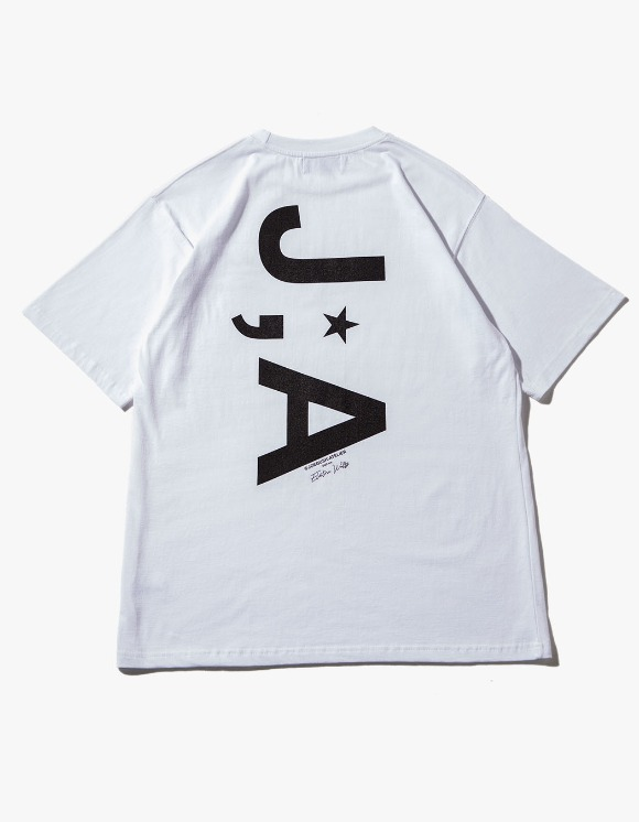 JOEGUSH J;A Logo T-shirts - White | HEIGHTS. | 하이츠 온라인 스토어