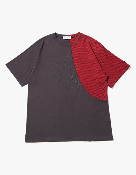 JOEGUSH Archery Stripe T-shirts - Red | HEIGHTS. | 하이츠 온라인 스토어