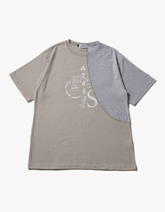 JOEGUSH Archery Stripe T-shirts - Light Grey | HEIGHTS. | 하이츠 온라인 스토어