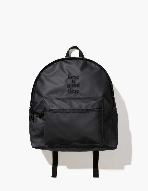 have a good time Logo Backpack - Charcoal | HEIGHTS. | 하이츠 온라인 스토어