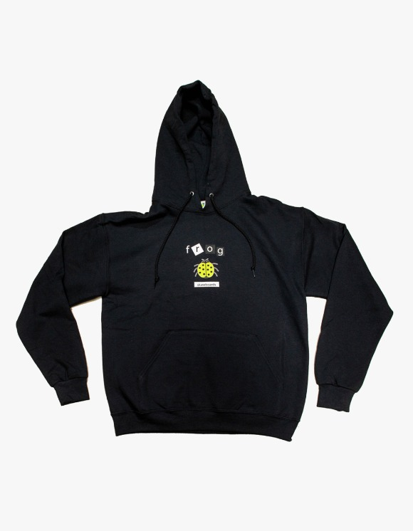Frog Skateboard Lady Bug Hoody - Black | HEIGHTS. | 하이츠 온라인 스토어