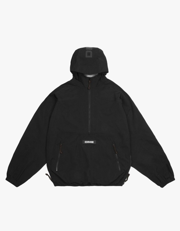 Dime Pullover Hooded Shell - Black | HEIGHTS. | 하이츠 온라인 스토어