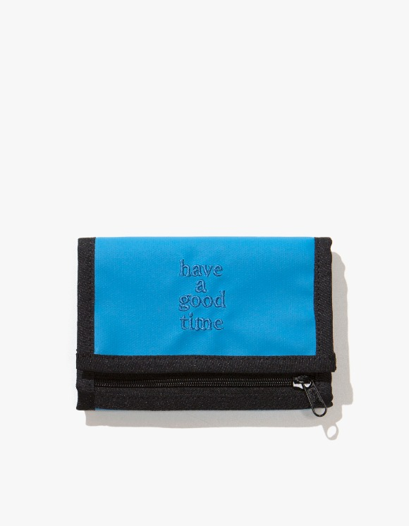 have a good time Logo Wallet - Smoky Blue | HEIGHTS. | 하이츠 온라인 스토어