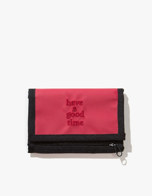 have a good time Logo Wallet - Smoky Red | HEIGHTS. | 하이츠 온라인 스토어