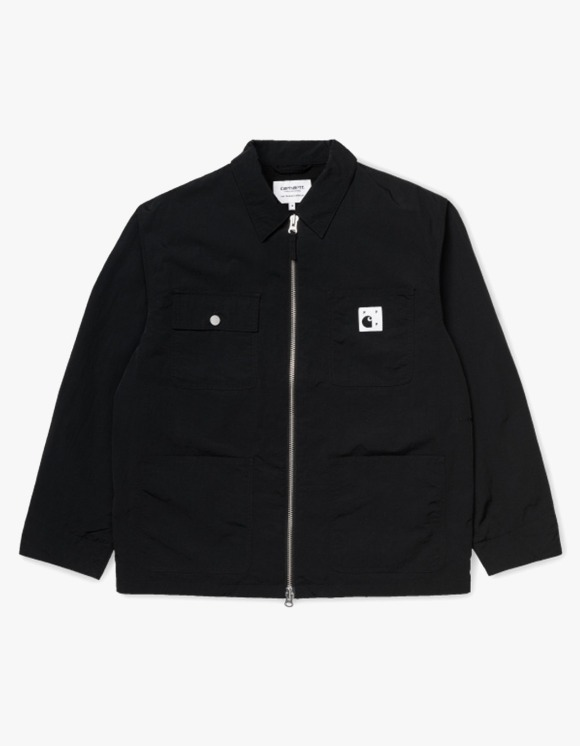 Pop Trading Company Pop x Pop_Carhartt WIP Michigan Chore Coat - Black | HEIGHTS. | 하이츠 온라인 스토어