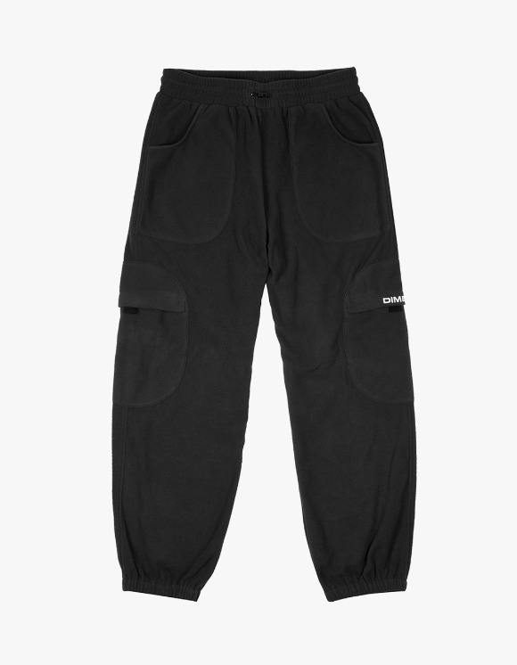 Dime Fleece Round Cargo Pants - Black | HEIGHTS. | 하이츠 온라인 스토어