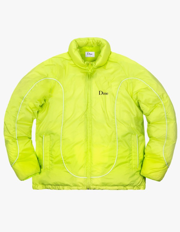 Dime Court Puffer Jacket - Neon | HEIGHTS. | 하이츠 온라인 스토어