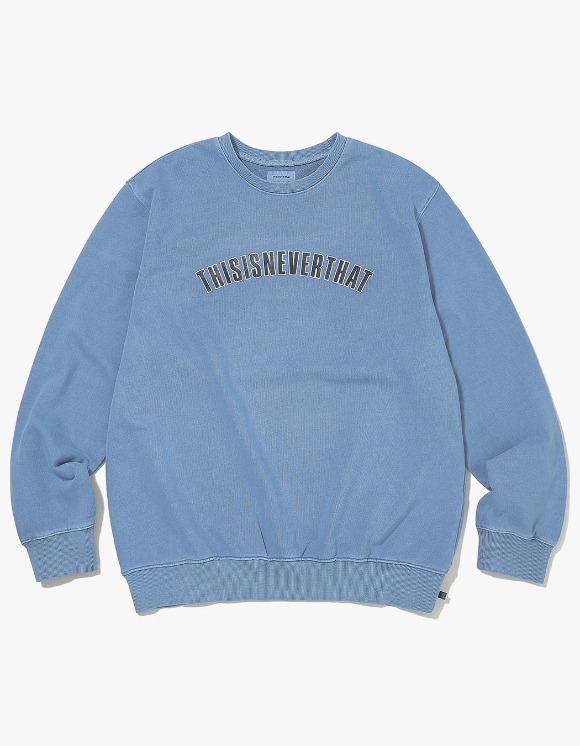 thisisneverthat NEW ARC Crewneck - Dusty Blue | HEIGHTS. | 하이츠 온라인 스토어