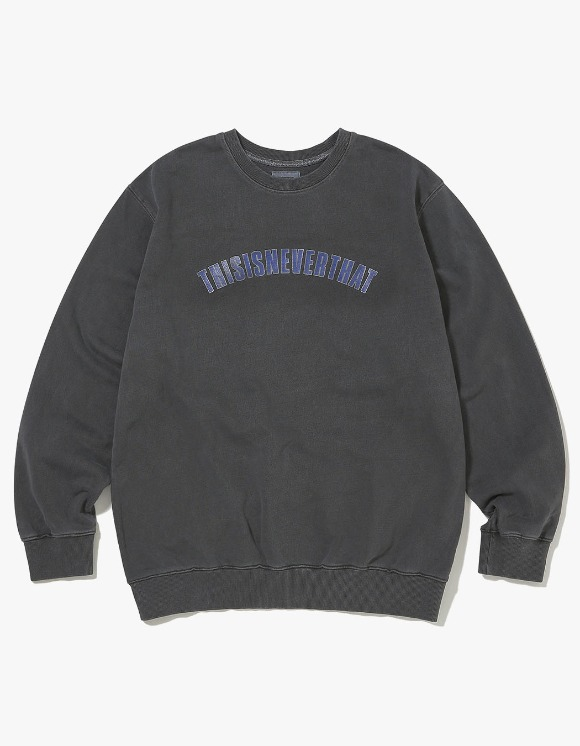thisisneverthat NEW ARC Crewneck - Charcoal | HEIGHTS. | 하이츠 온라인 스토어