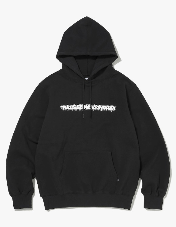 thisisneverthat FD-Logo Hooded Sweatshirt - Black | HEIGHTS. | 하이츠 온라인 스토어