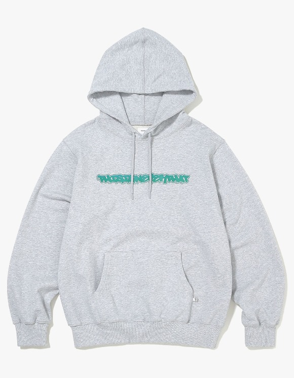thisisneverthat FD-Logo Hooded Sweatshirt - Grey | HEIGHTS. | 하이츠 온라인 스토어