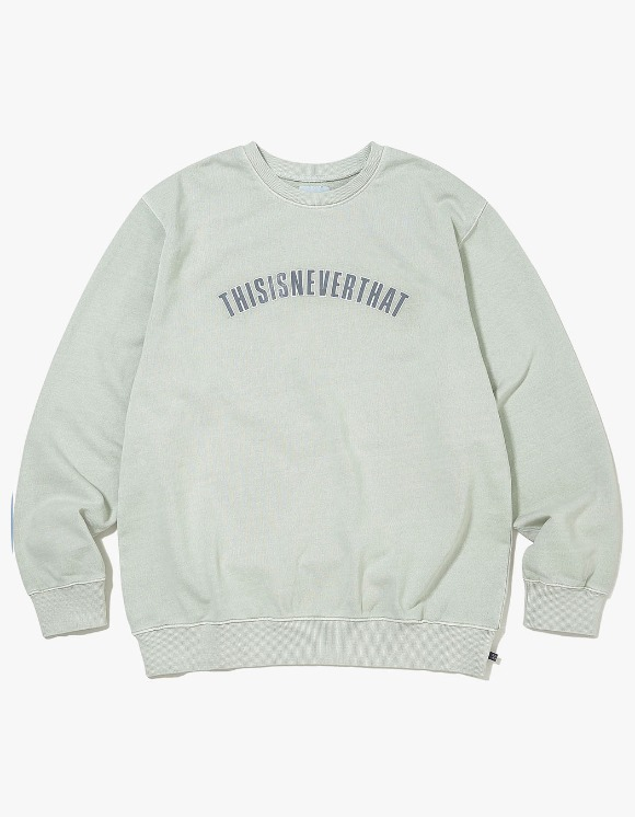 thisisneverthat NEW ARC Crewneck - Mint | HEIGHTS. | 하이츠 온라인 스토어