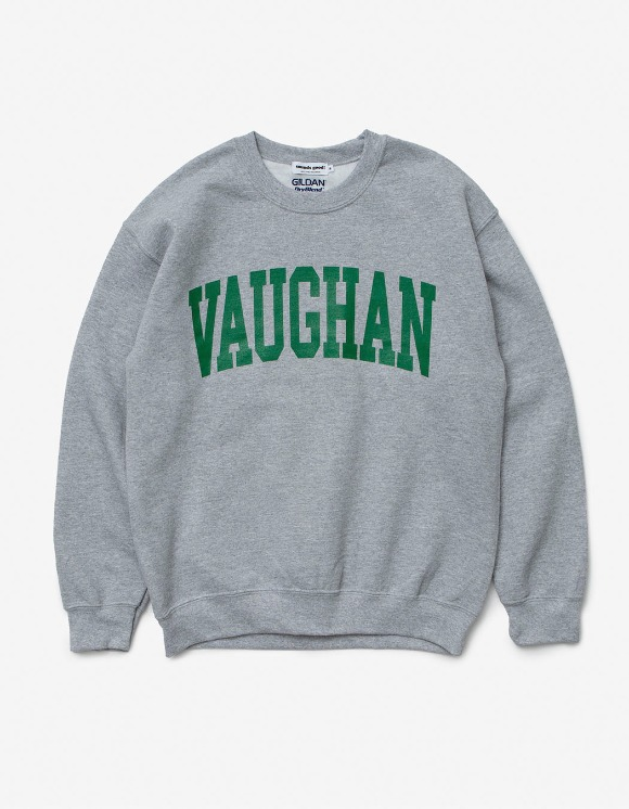 sounds good! Vaughan Crewneck - Grey | HEIGHTS. | 하이츠 온라인 스토어