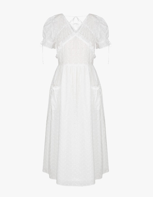 Margarin Fingers Pure Lace Dress - White | HEIGHTS. | 하이츠 온라인 스토어