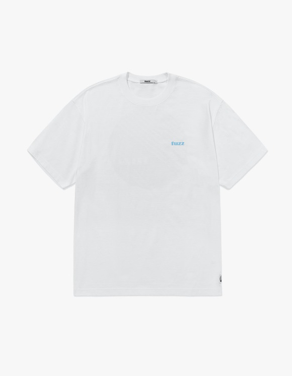 Fuzz FUZZ BASIC LOGO TEE white | HEIGHTS. | 하이츠 온라인 스토어