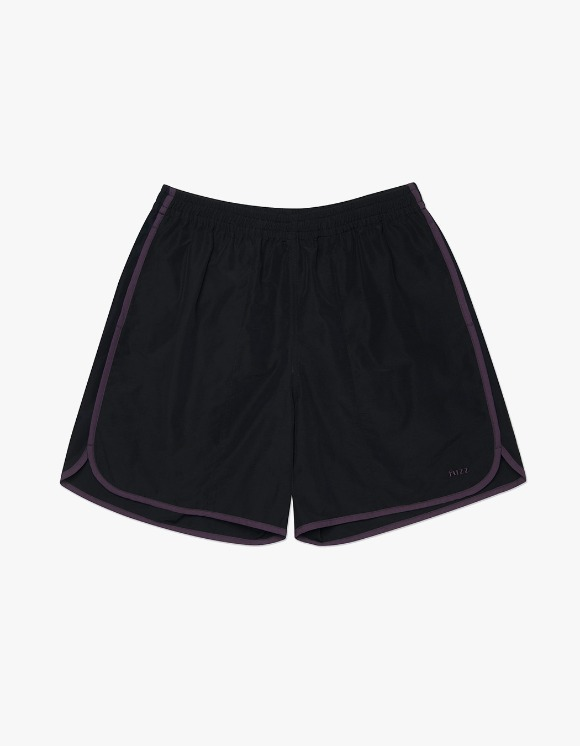 Fuzz FUZZ LINE TAPE SHORTS black | HEIGHTS. | 하이츠 온라인 스토어