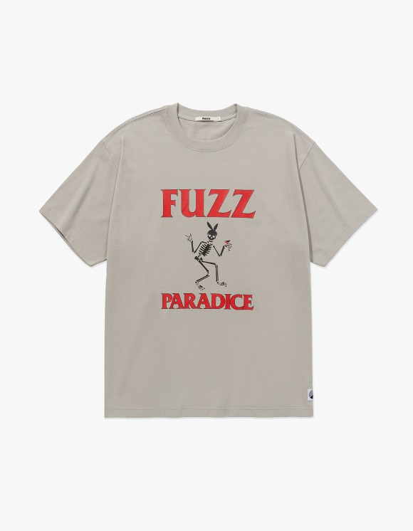 Fuzz FUZZ BUNNY BONE TEE beige | HEIGHTS. | 하이츠 온라인 스토어