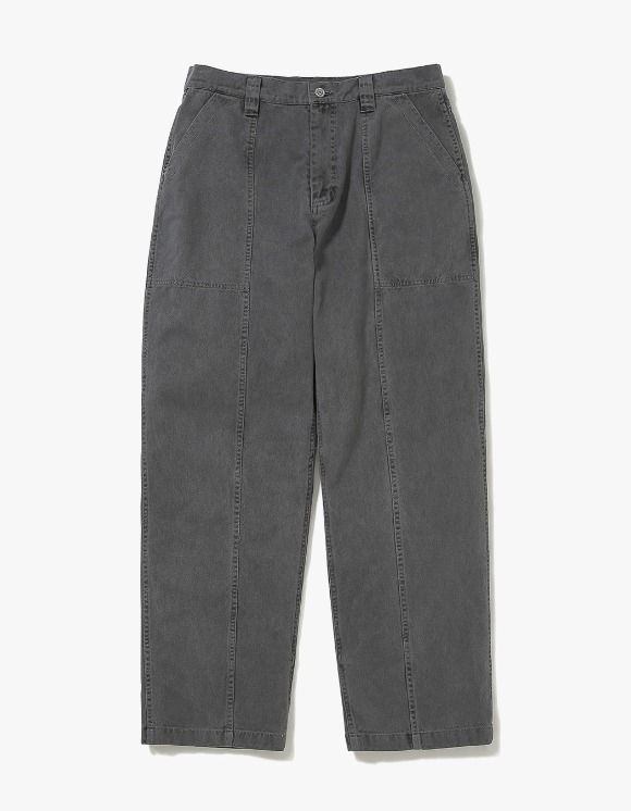 thisisneverthat Overdyed Big Pant - Charcoal | HEIGHTS. | 하이츠 온라인 스토어
