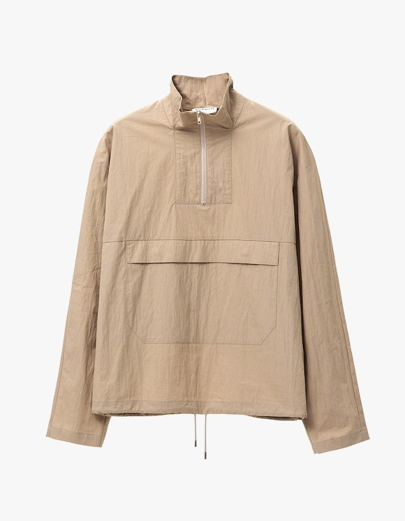 AECA WHITE Half Zip Up Anorak - Beige | HEIGHTS. | 하이츠 온라인 스토어