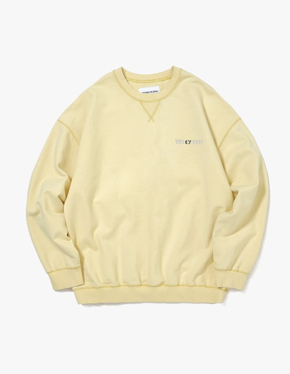 yeseyesee Juwonman Sweatshirts - Yellow | HEIGHTS. | 하이츠 온라인 스토어