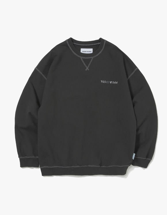 yeseyesee Juwonman Sweatshirts - Black | HEIGHTS. | 하이츠 온라인 스토어