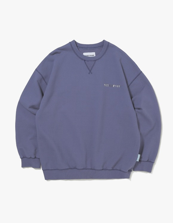 yeseyesee Juwonman Sweatshirts - Navy | HEIGHTS. | 하이츠 온라인 스토어