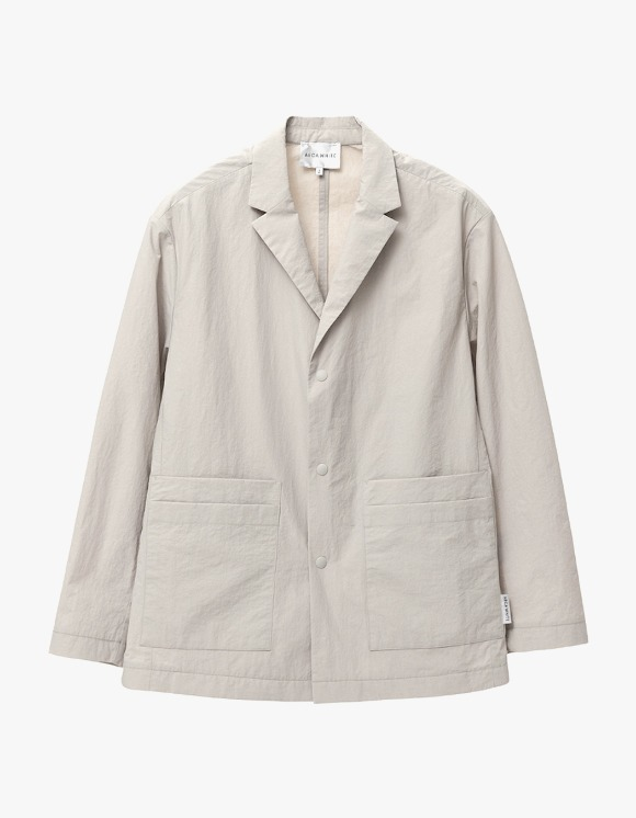 AECA WHITE Double Pocket  Relaxed Blazer - Sand Beige | HEIGHTS. | 하이츠 온라인 스토어