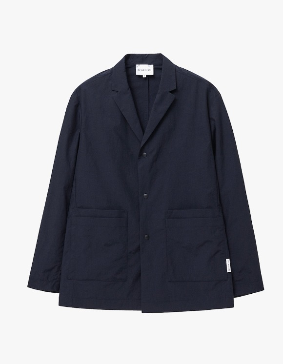 AECA WHITE Double Pocket  Relaxed Blazer - Navy | HEIGHTS. | 하이츠 온라인 스토어
