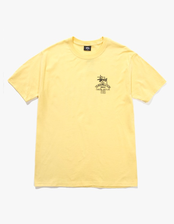 Stussy Jamaica World Tribe Tee - Yellow | HEIGHTS. | 하이츠 온라인 스토어