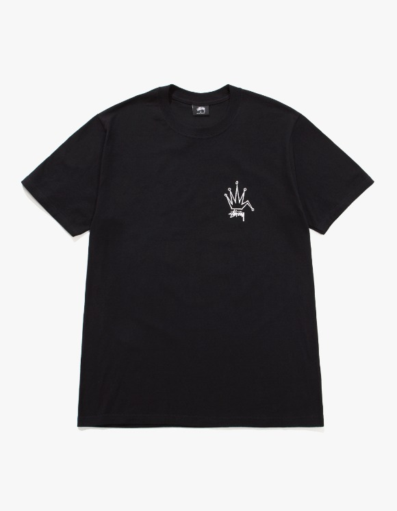 Stussy Old Crown Tee - Black | HEIGHTS. | 하이츠 온라인 스토어