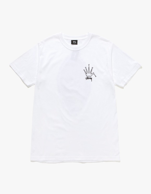 Stussy Old Crown Tee - White | HEIGHTS. | 하이츠 온라인 스토어