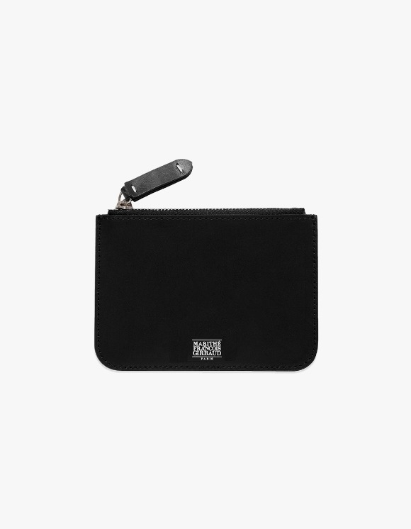 Marith+Franois Girbaud MFG LEATHER ZIP WALLET black | HEIGHTS. | 하이츠 온라인 스토어