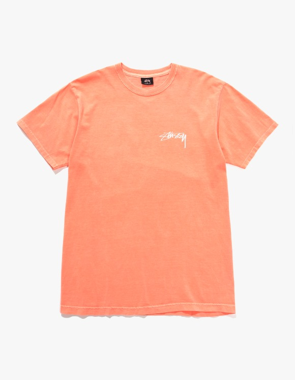 Stussy Bloom Tee - Neon Orange | HEIGHTS. | 하이츠 온라인 스토어