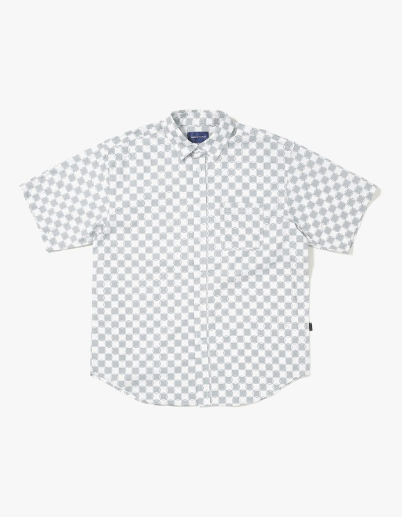 thisisneverthat CS Check S/S Shirt - Grey/White | HEIGHTS. | 하이츠 온라인 스토어