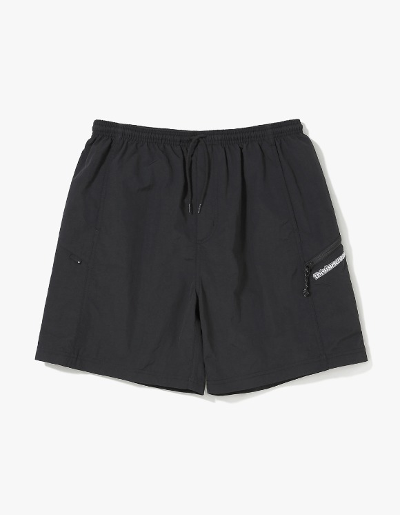 thisisneverthat Zip Jogging Short - Black | HEIGHTS. | 하이츠 온라인 스토어