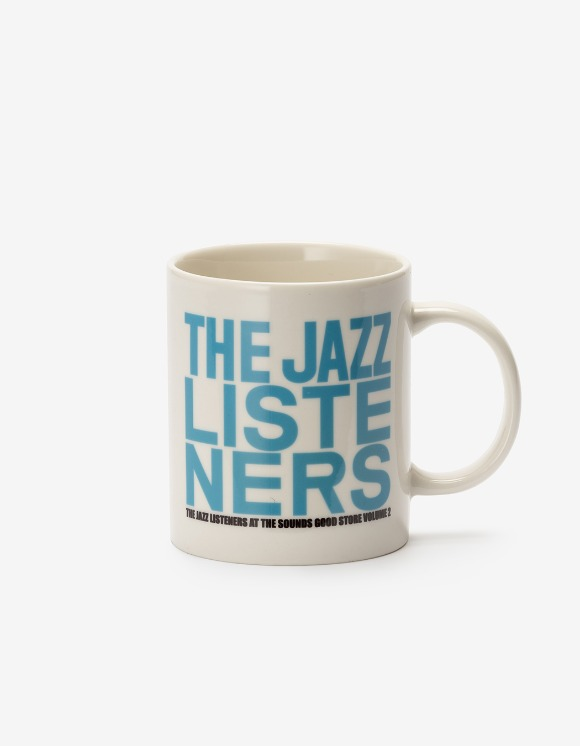 sounds good! Jazz Listeners Mug - Blue | HEIGHTS. | 하이츠 온라인 스토어