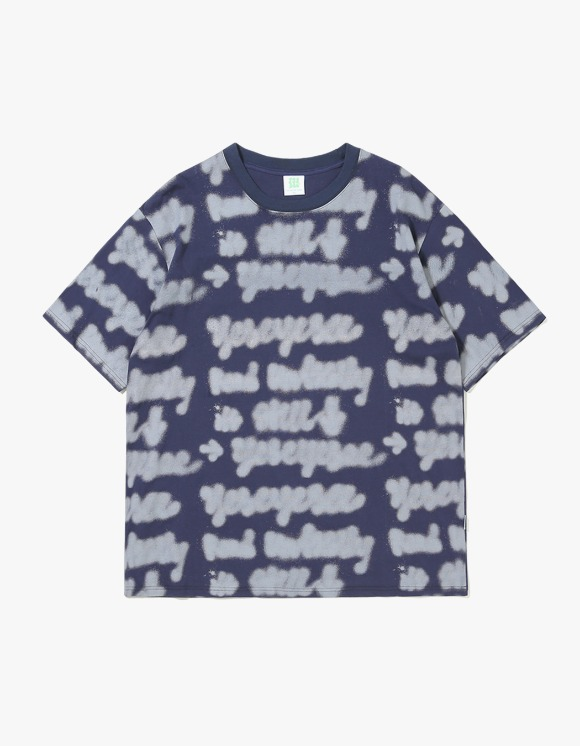 yeseyesee Doodled Tee - Navy | HEIGHTS. | 하이츠 온라인 스토어