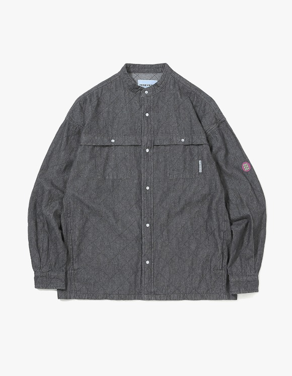 yeseyesee Net Denim Shirts - Black | HEIGHTS. | 하이츠 온라인 스토어