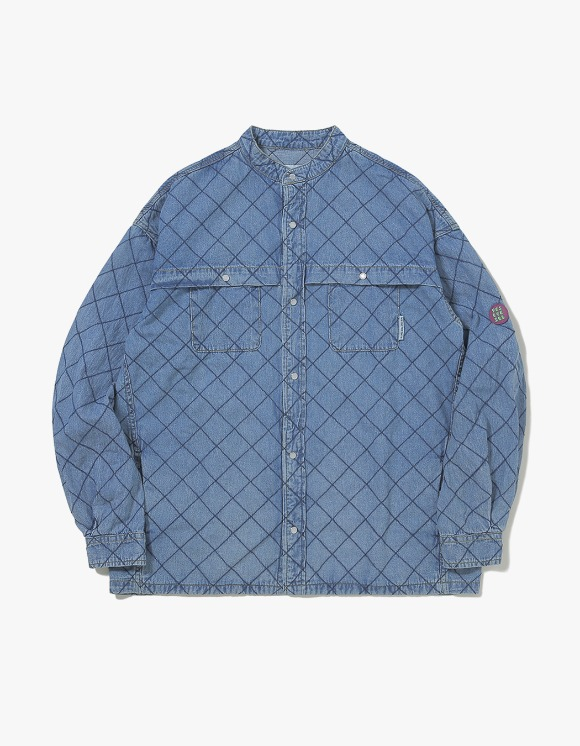 yeseyesee Net Denim Shirts - Blue | HEIGHTS. | 하이츠 온라인 스토어