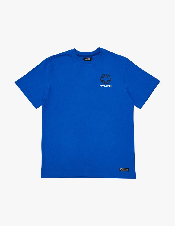 NIVELCRACK MonoGram Tee - Blue | HEIGHTS. | 하이츠 온라인 스토어
