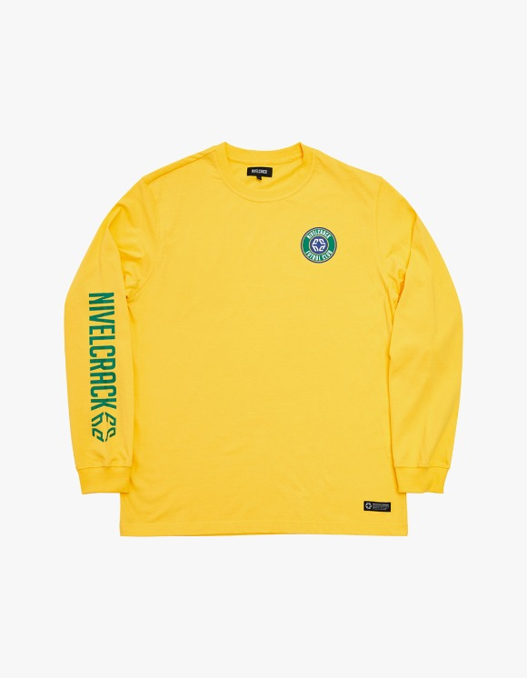 NIVELCRACK Club L/S Tee - Yellow | HEIGHTS. | 하이츠 온라인 스토어