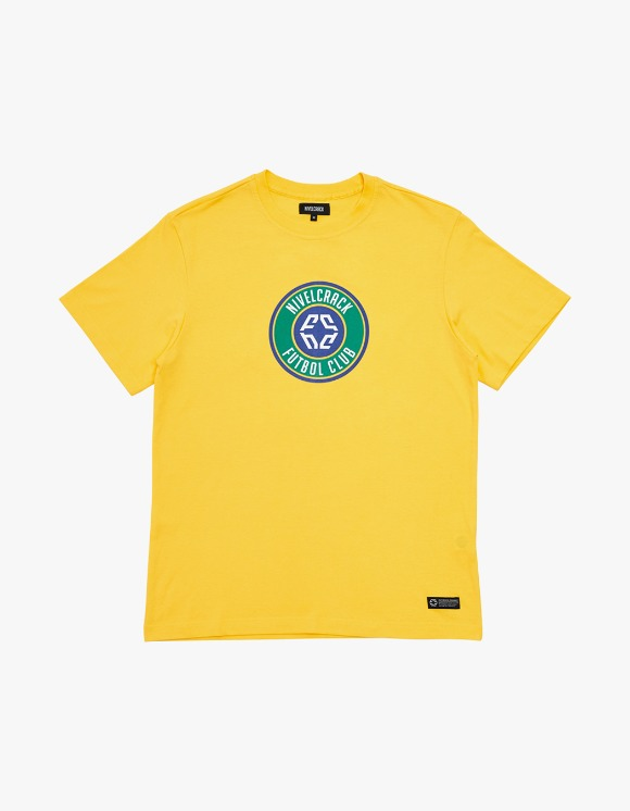 NIVELCRACK Club Tee - Yellow | HEIGHTS. | 하이츠 온라인 스토어