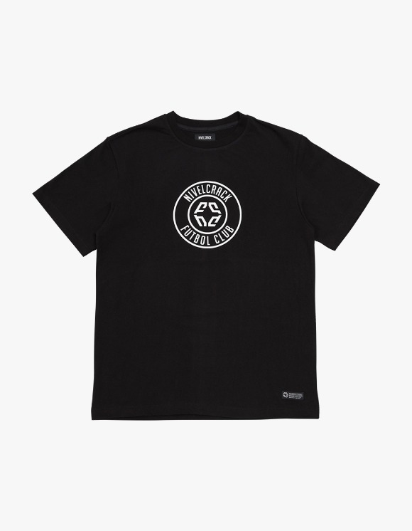 NIVELCRACK Club Tee - Black | HEIGHTS. | 하이츠 온라인 스토어