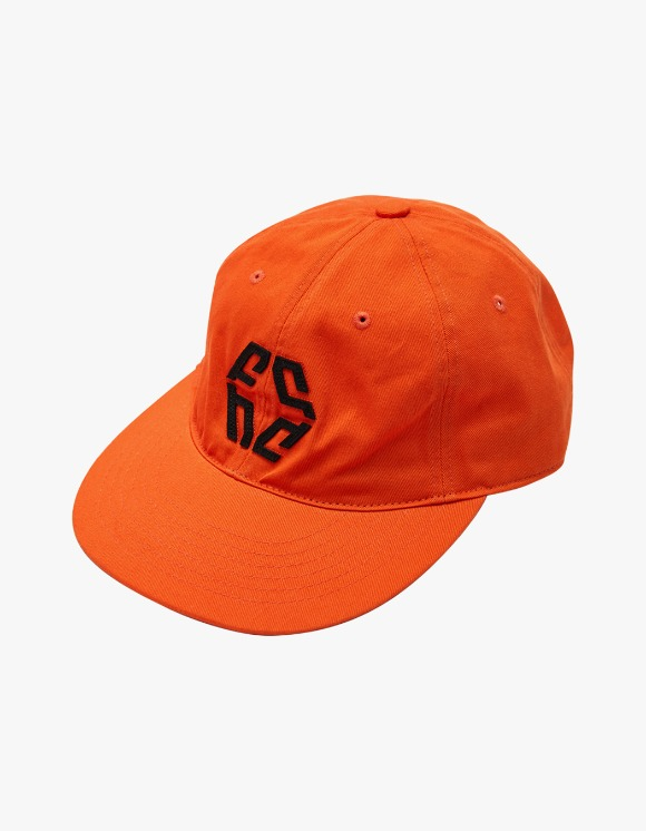 NIVELCRACK Logo 6 Panel Cap - Orange | HEIGHTS. | 하이츠 온라인 스토어