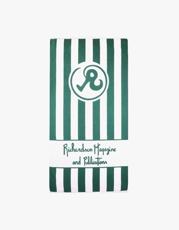 Richardson Richardson Magazine Towel - Green | HEIGHTS. | 하이츠 온라인 스토어