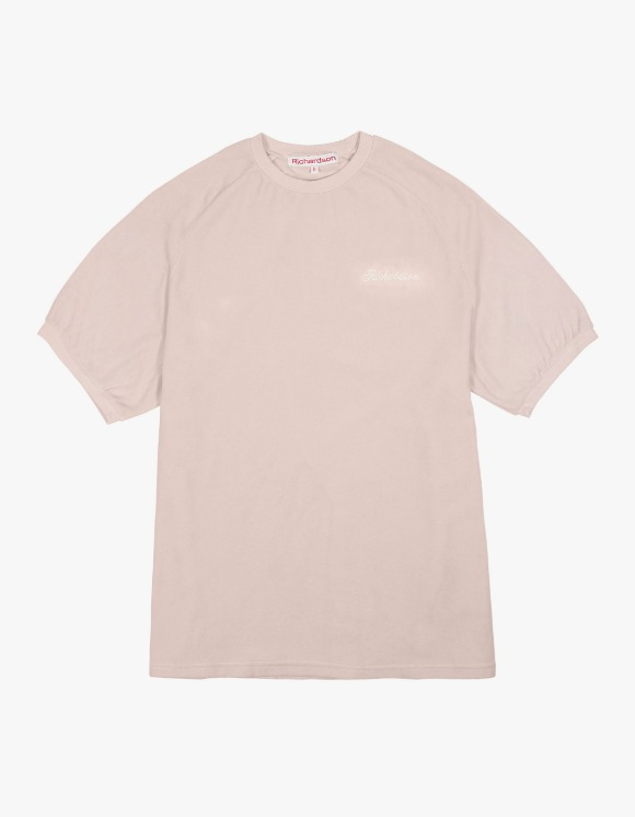 Richardson Velour Tee - Beige | HEIGHTS. | 하이츠 온라인 스토어