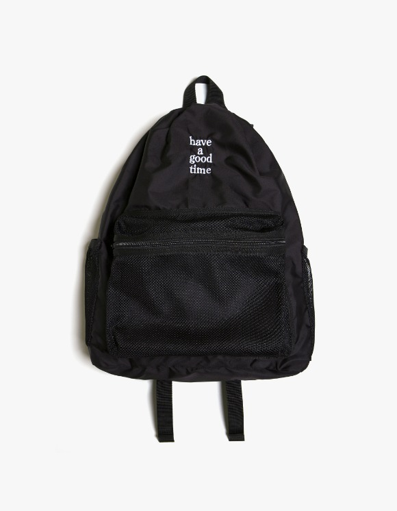 have a good time Logo Day Pack - Black | HEIGHTS. | 하이츠 온라인 스토어