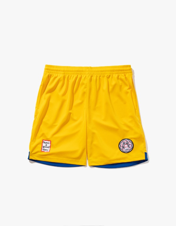 have a good time HAGT Soccer Shorts - Yellow | HEIGHTS. | 하이츠 온라인 스토어