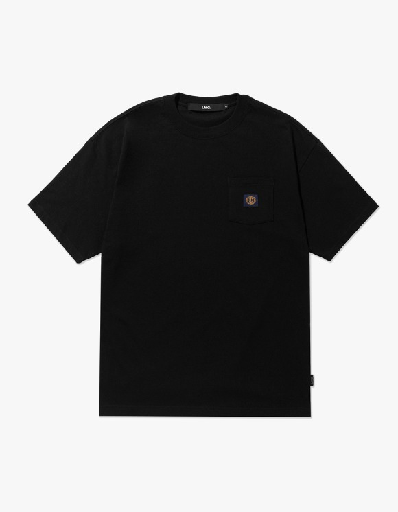 LMC LMC BASIC POCKET TEE black | HEIGHTS. | 하이츠 온라인 스토어